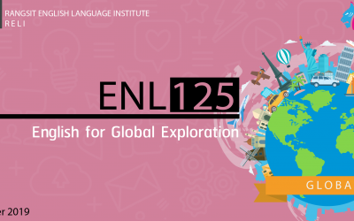 ENL125 : English for Global Exploration