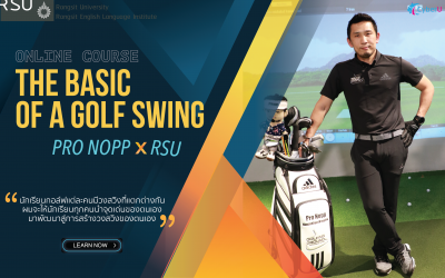 The basic of a golf swing: Pro Nopp X RSU